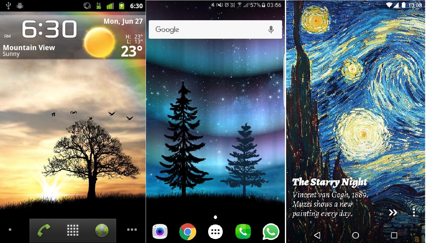 Las 11 mejores aplicaciones de fondos animados para android for Mejores fondos animados android