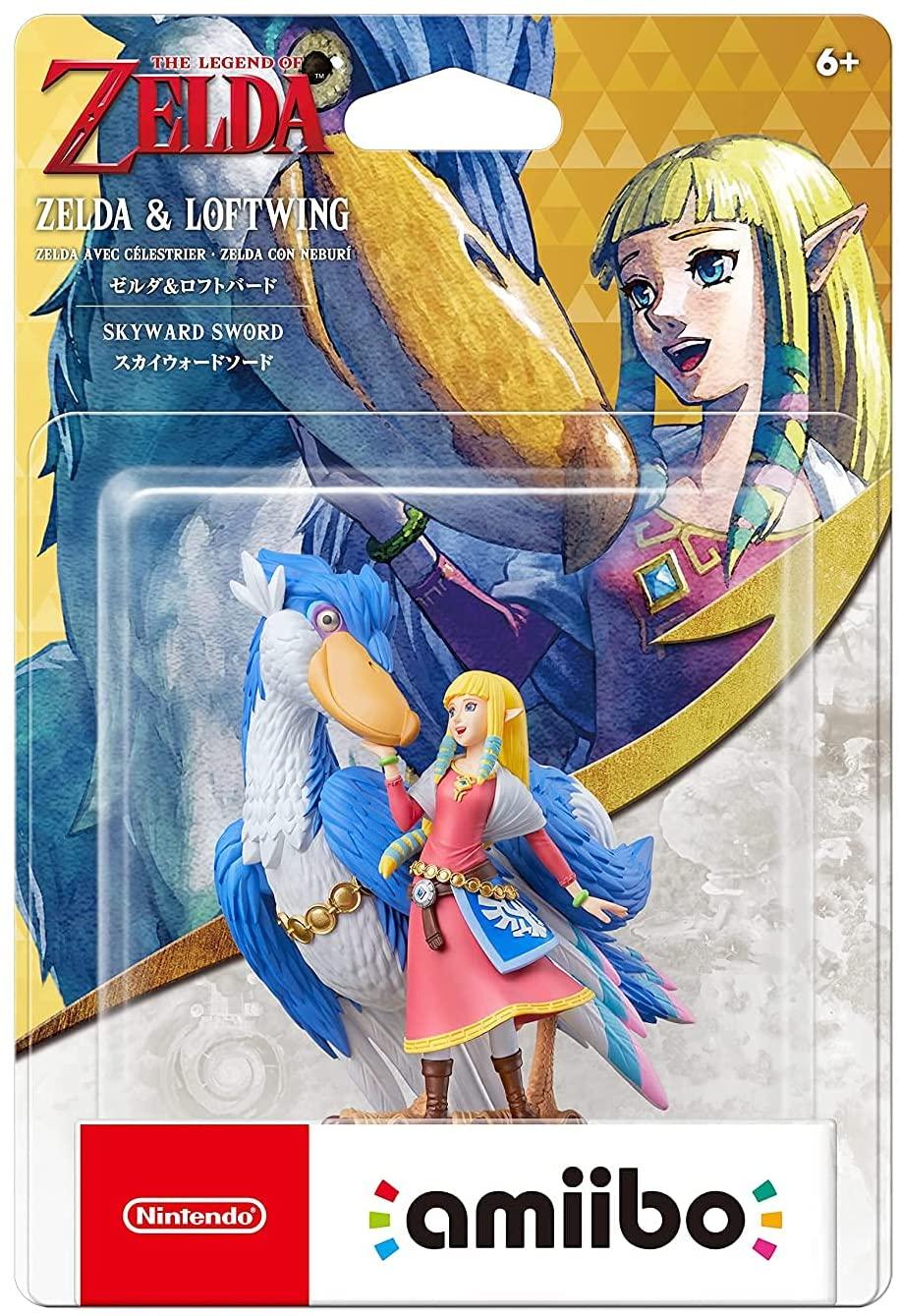 amiibo Zelda & Loftwing - The Legend of Zelda: Skyward Sword HD