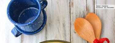 Sopa de hongos con jengibre y cúrcuma. Receta