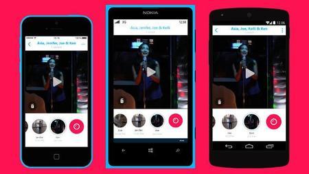 Skype Qik, la nueva aplicación de Microsoft para enviar mensajes de vídeo