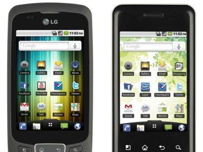 LG Optimus One y Chic, los coreanos se van tomando en serio Android