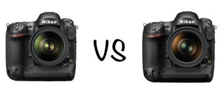 Nikon D4 vs D4S: enfrentamos las especificaciones de los dos «buques insignia»