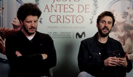 """""""La comedia que más me gusta es la que haces desde el drama"""". Julián López ('Justo antes de Cristo')"""