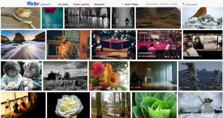 Nuevo diseño de Flickr