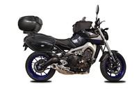 La Yamaha MT-09 mucho más viajera con SHAD