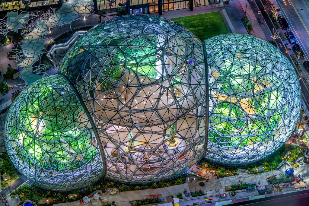 The Spheres Amazon 7