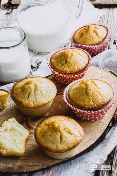 Muffins de elote y vainilla. Receta fácil para el Día del niño