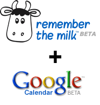 Integra Remember the Milk en Google Calendar