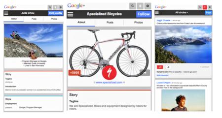 Google+ rediseña su versión móvil