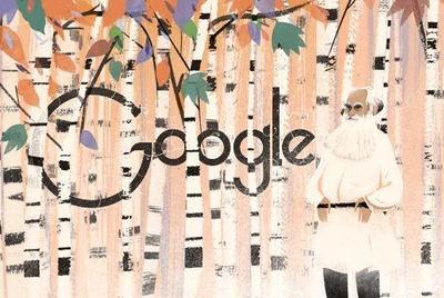 Google dedica su doodle al 186 aniversario del nacimiento de Tolstói