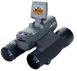 Prismáticos con cámara de fotos