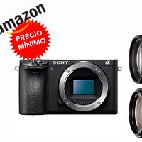 A su precio más bajo hasta la fecha en Amazon, te puedes equipar con una Sony Alpha 6500 con objetivos 18-105mm y 70-300mm por sólo 1.835,57 euros