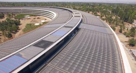 Nuevo vídeo del Apple Park, los edificios adyacentes ya están tomando forma