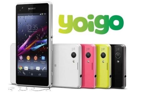 Precios Sony Xperia Z1 Compact con Yoigo