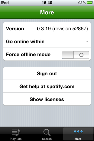 Foto de Spotify para iPhone (23/26)