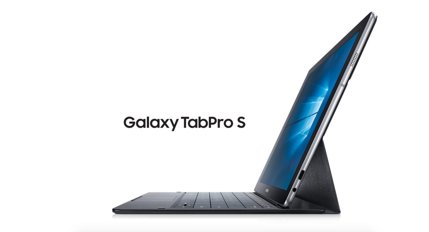 El Samsung Galaxy TabPro S es en 2 en 1 con Windows 10 que presume de diseño