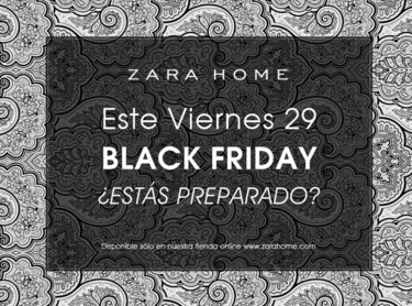 Black Friday en la tienda online de Zara Home