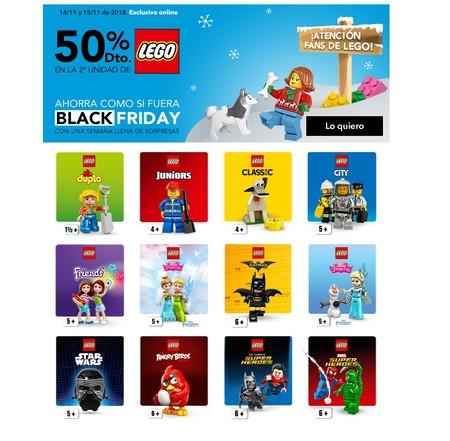 50 De Descuento En La Segunda Unidad De Lego En Toys R Us En La