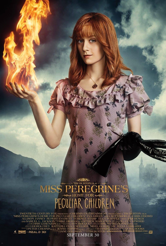 Foto de Carteles de 'El hogar de Miss Peregrine para niños peculiares' (7/19)