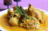 Estofado marroquí de pollo. Receta