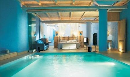 ¿Buena o mala idea?: una piscina en el dormitorio
