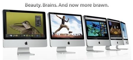 Apple actualiza sus iMacs, ahora con Core 2 Extreme y 8800 GS