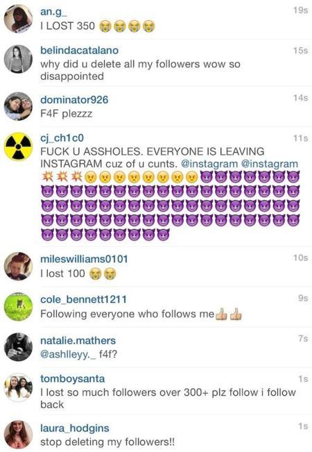 Instagram Comentarios