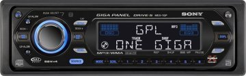 Sony Giga Panel, música en tu coche