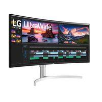 LG 38WN95C-W: este monitor apuesta por el formato ultrapanorámico 21:9 y resolución QHD+ para acompañar al PC o consola