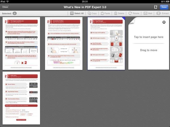 Edición y ordenación de páginas, función realmente imprescindible para tratar con archivos PDF