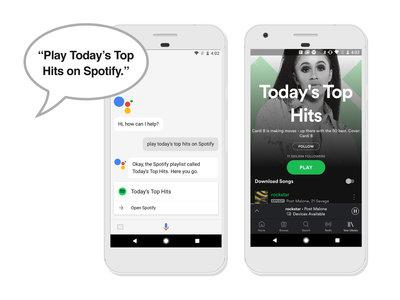 Spotify y Google Assistant juntos: ahora podemos reproducir nuestra música con sólo hablarle a Google