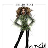 Emilio Pucci para Beyoncé