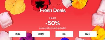 Fresh Deals en Sarenza: hasta 50% de descuento en una selección de artículos para hombre, mujer y niño