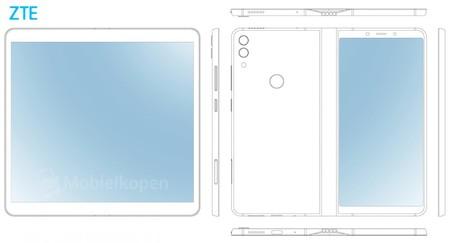 Foldable Smartphone Zte