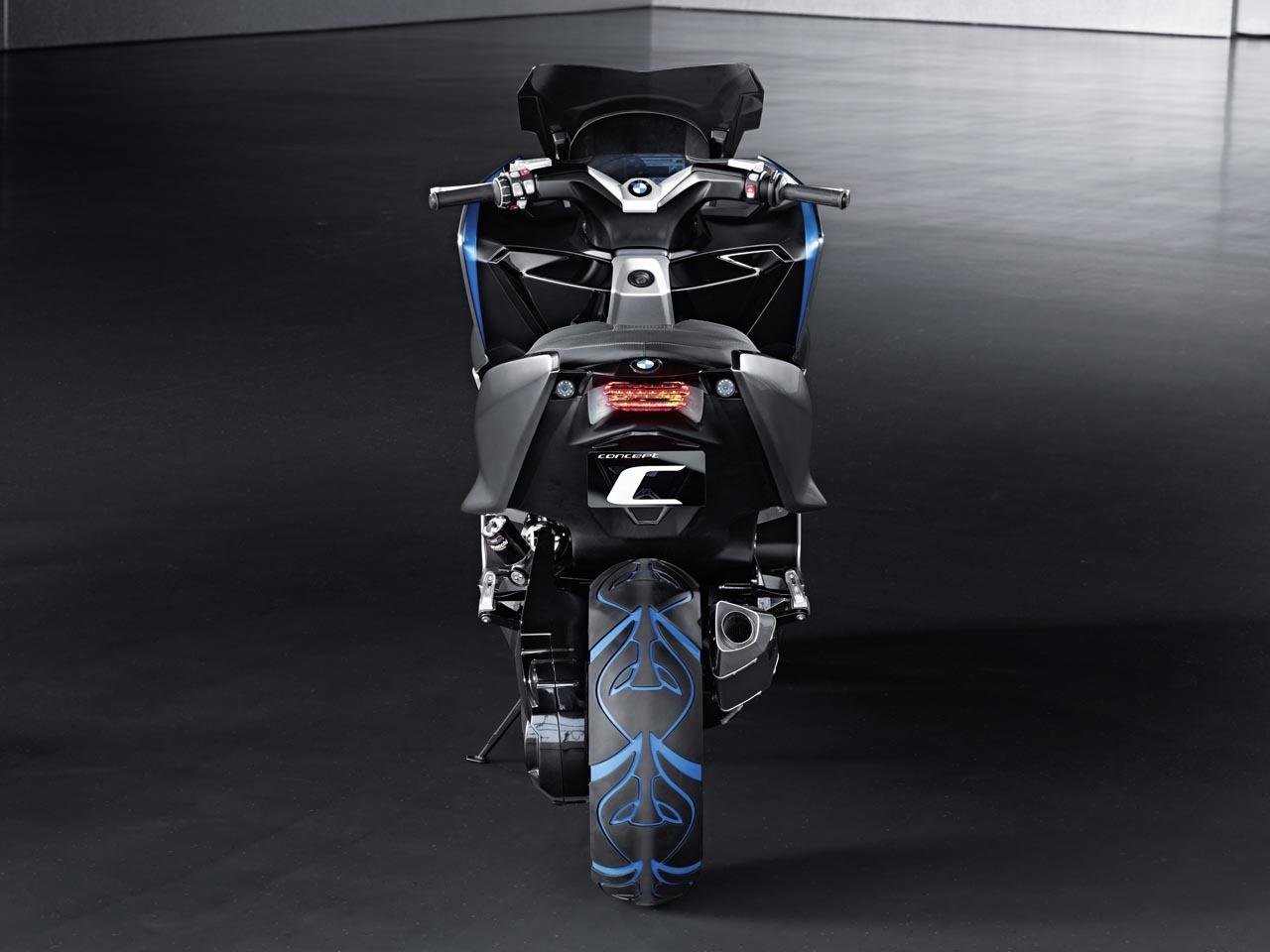Foto de BMW Concept C Scooter, el Scooter del futuro según BMW (6/19)