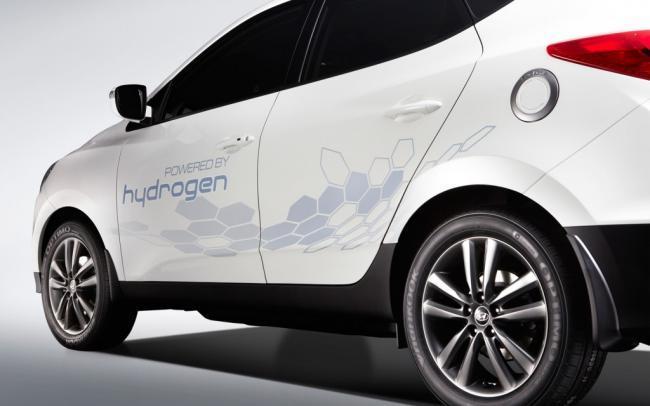 Hyundaio pila de hidrógeno
