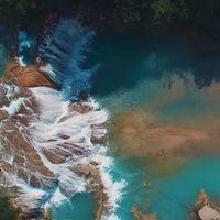Impresionantes imágenes de playas, jungla y cascadas en México