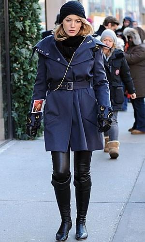 El invierno según Gossip Girl: el estilo de Blake Lively y Jessica Szohr