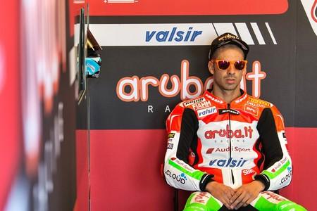 Marco Melandri Sbk 2018 Ducati 1