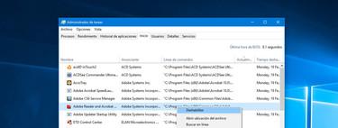 Cómo quitar aplicaciones del inicio de Windows 10 para que cargue más rápido