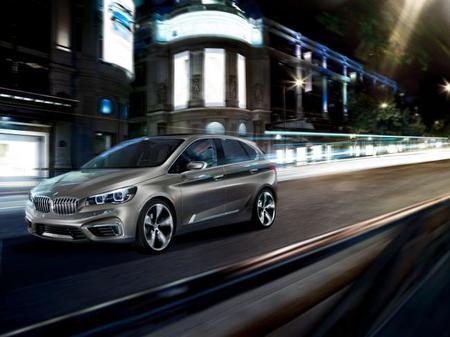 BMW Concept Active Tourer, rumbo a París