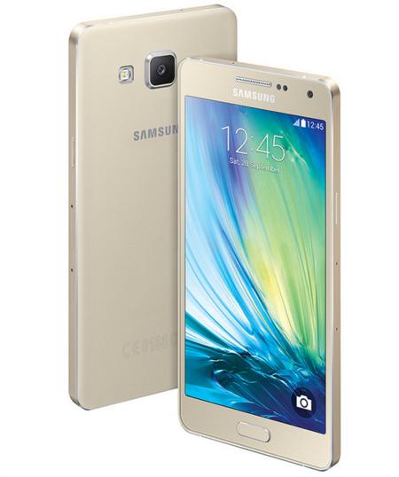 Samsung Galaxy A5 y Galaxy A3, metálicos y delgados