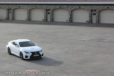 Lexus RC F - toma de contacto - prueba Ascari