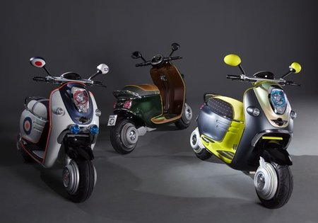 MINI Scooter E Concept, la electricidad a dos ruedas