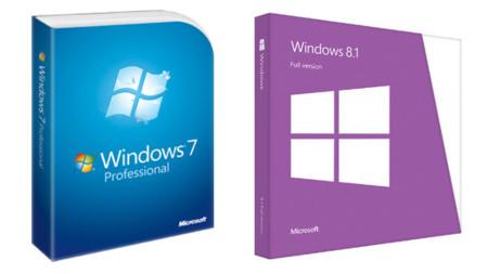 Windows 7 y Windows 8.1