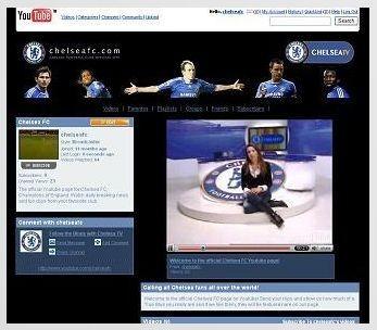 El equipo de fútbol Chelsea tiene canal en Youtube