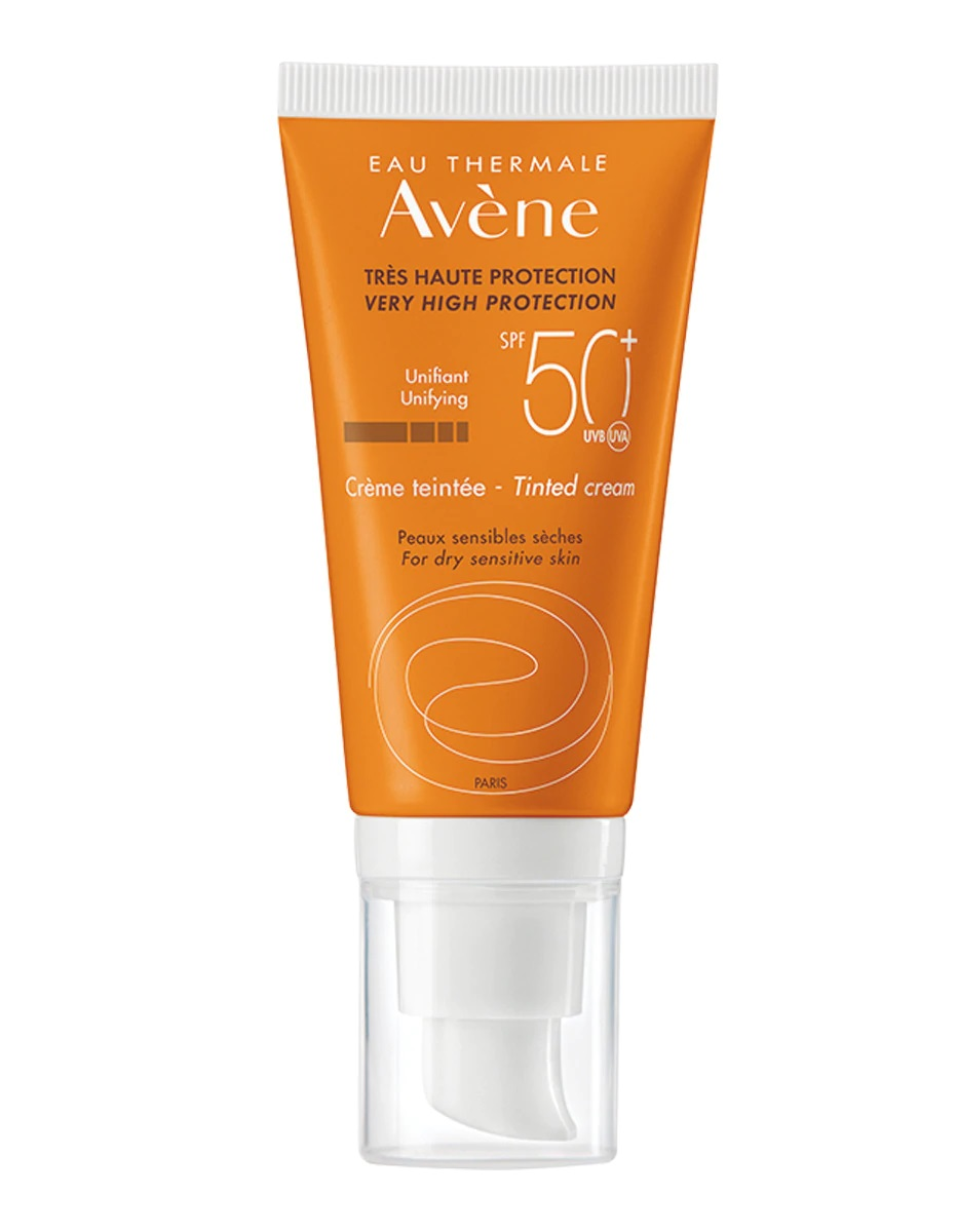 Crema con color y SPF50+ de Avène