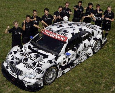 Mercedes apoya el Mundial en el DTM