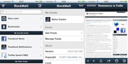 Rockmelt lanza su aplicación para iOS