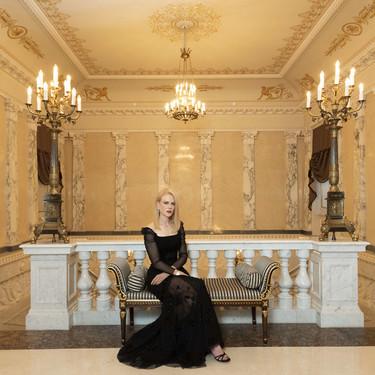 La elegancia de Nicole Kidman conquista San Petersburgo